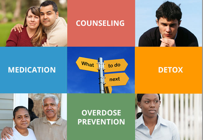 COUNSELING, DETOX, MEDICATION, OVERDOSE PREVENTION